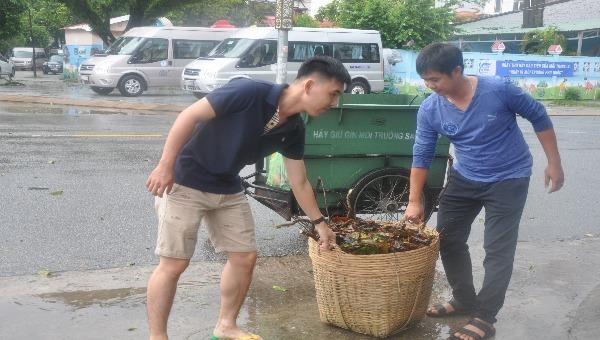 Hào hứng thực hiện Ngày vì môi trường Phú Quốc