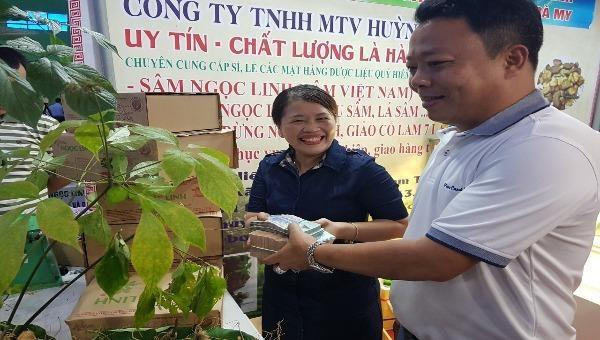 Hình ảnh Lễ hội giới thiệu sâm Ngọc Linh Quảng Nam