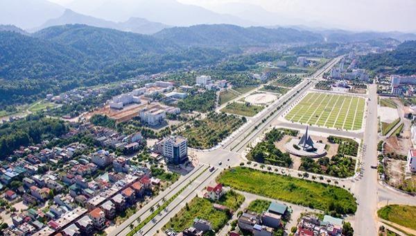 Thành phố Lào Cai (Ảnh: Báo Lào Cai)