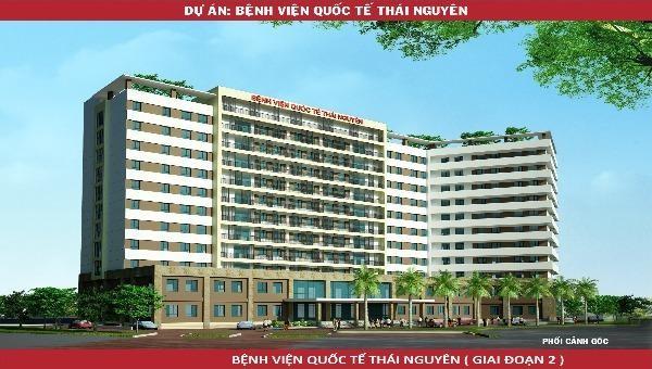 Mô hình Bệnh viện Quốc tế Thái Nguyên giai đoạn 2
