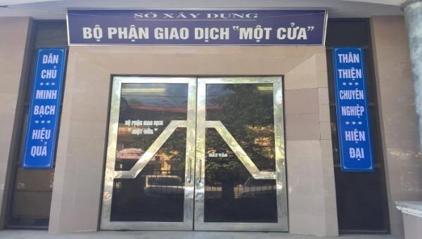 Bộ phận một cửa Sở Xây dựng tỉnh Tuyên Quang (ảnh minh họa)