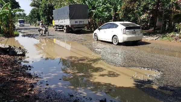 Kiên Giang: Báo động tình trạng quốc lộ 80 xuống cấp nghiêm trọng