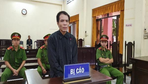 Bị cáo Nguyễn Minh Ký tại phiên tòa