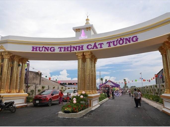 UBND tỉnh Long An chính thức giao đất cho chủ đầu tư dự án Hưng Thịnh Cát Tường