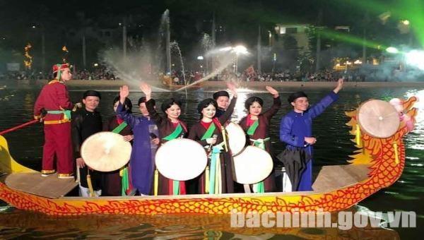 Vẻ đẹp dân ca quan họ (ảnh: báo Bắc Ninh)
