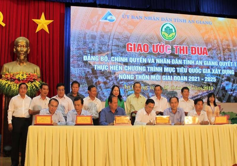 An Giang về đích sớm Chương trình mục tiêu quốc gia xây dựng nông thôn mới