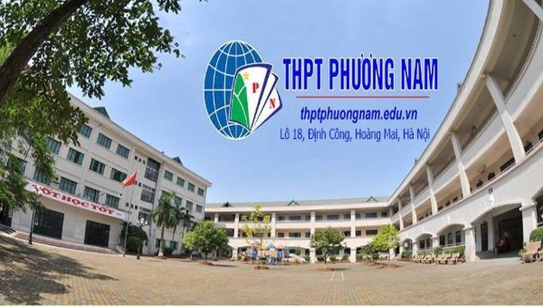 Trường THPT Phương Nam, Hà Nội (ảnh: internet)