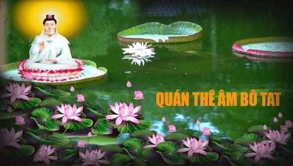 Truyền thuyết của Phật giáo kể lại rằng, tại vườn Lâm Tì Ni, vào lúc Đản sinh, mỗi bước trong bảy bước đi đầu tiên của Đức Phật đều có hoa sen hiện ra nâng đỡ