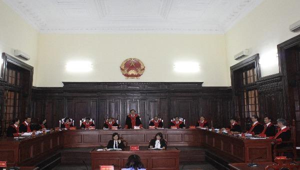 Phiên họp của Hội đồng Thẩm phán TAND Tối cao