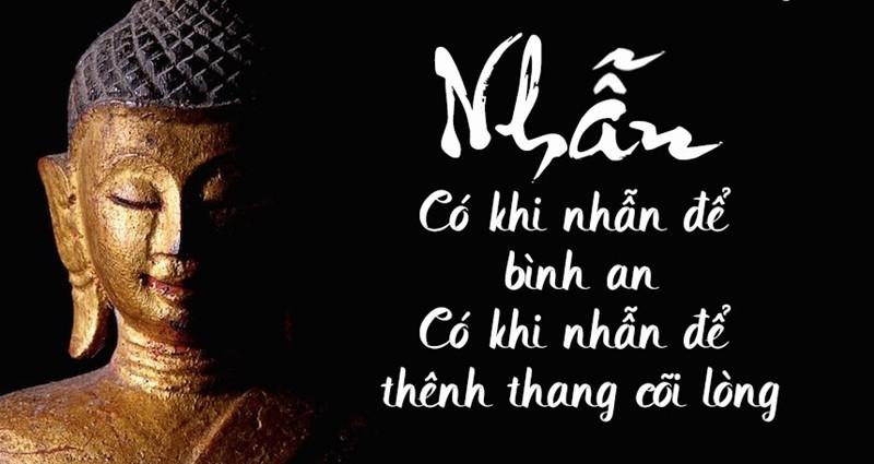 """Phương pháp thực hiện chữ """"Nhẫn"""" theo triết lý Phật giáo"""