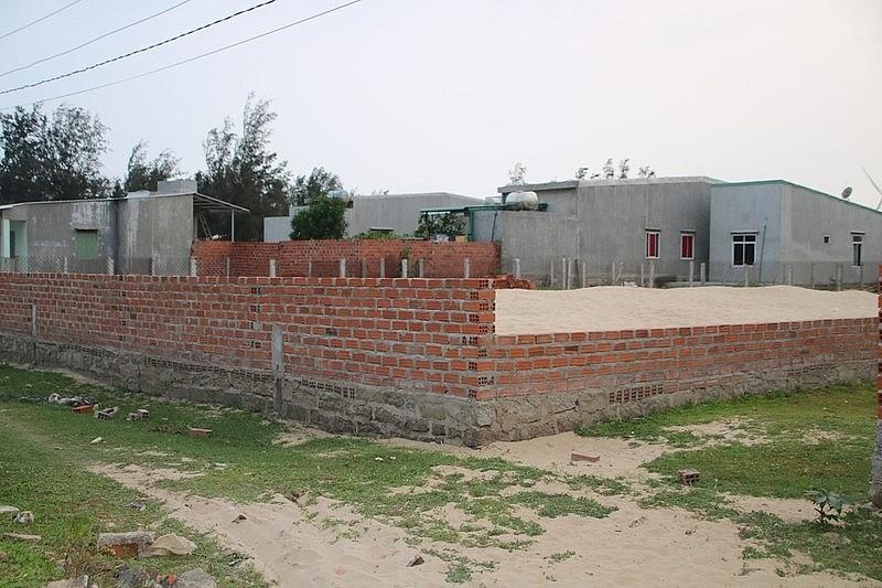 Bình Định: Nhức nhối tình trạng xây nhà trái phép tại Khu Kinh tế Nhơn Hội