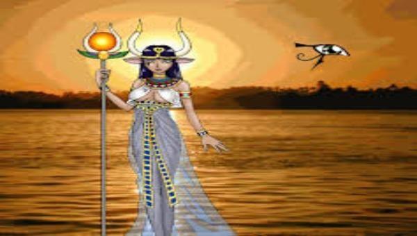 Hathor nữ thần của Tình yêu