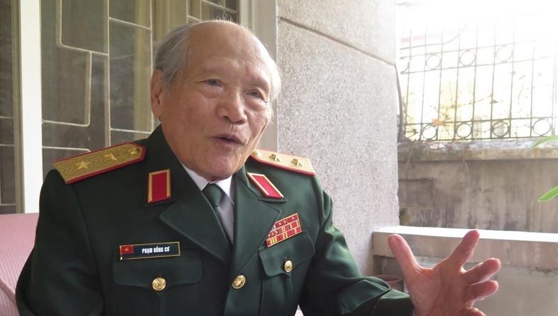Trung tướng Phạm Hồng Cư.