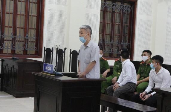Bị cáo Hoàng Đình Nam tại phiên xử phúc thẩm