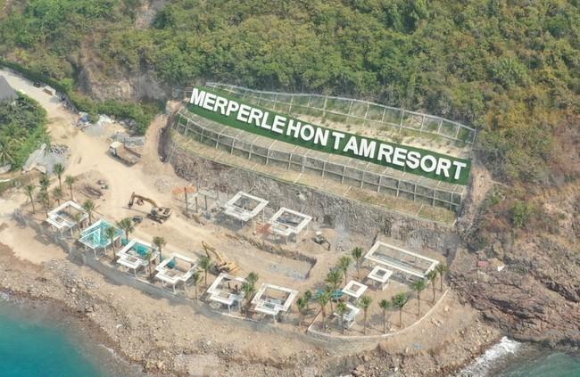 Khánh Hòa: Doanh nghiệp tự ý san lấp hàng ngàn m2 đất, tàn phá hệ sinh thái biển Hòn Tằm