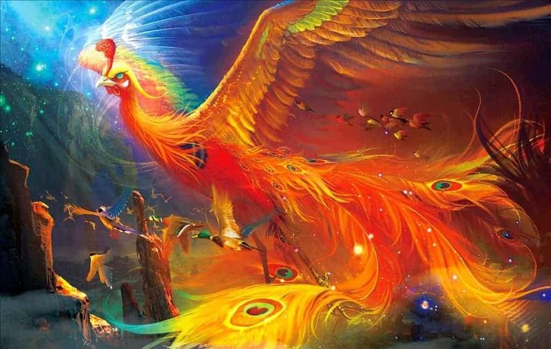 Những thần thú trong tâm thức Việt- Kỳ 2: Phượng Hoàng tái sinh từ đống tro tàn