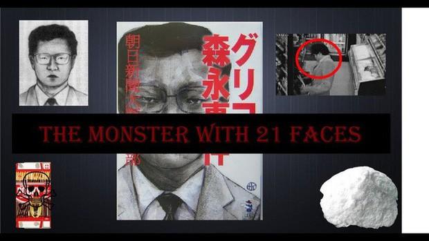 """""""Quái vật 21 mặt"""" - Kỳ án bí ẩn ám ảnh người dân Nhật Bản"""