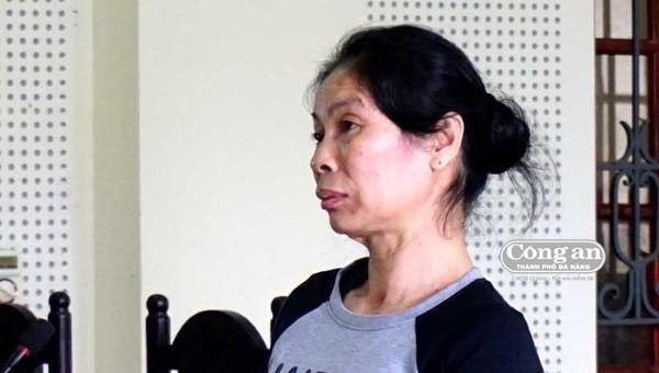 Bị cáo Lô Thị Chiên