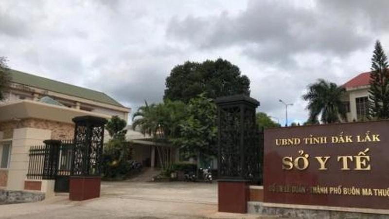 Cơ quan Sở Y tế tỉnh Đắk Lắk nơi xảy ra vụ việc