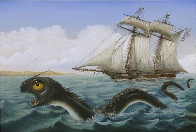 Loài rắn biển khổng lồ có thật hay chỉ là huyền thoại?