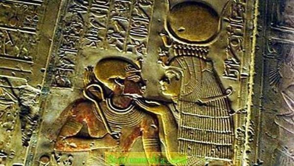 Hình tượng Nữ thần Isis cổ