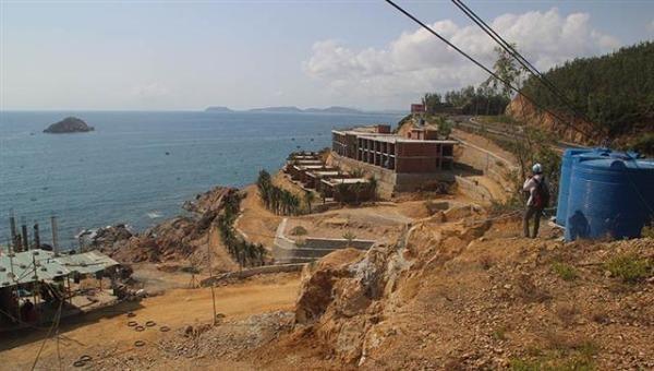 Phát lộ hàng loạt sai phạm tại các dự án du lịch trên tuyến Quy Nhơn - Sông Cầu