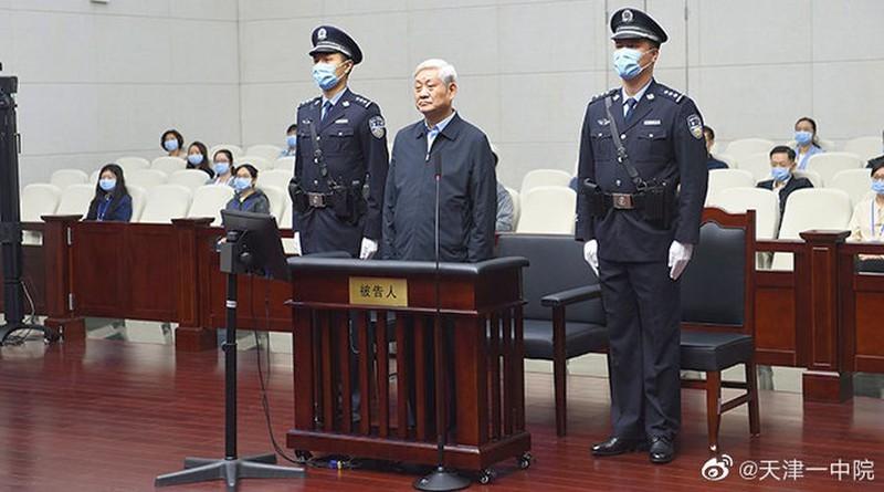 Bị cáo Triệu Chính Vĩnh bị Tòa án nhân dân Trung cấp số 1 thành phố Thiên Tân xét xử hôm 11/5 vừa qua