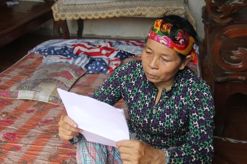 Bà Nguyễn Thị Nhàn mẹ của nạn nhân
