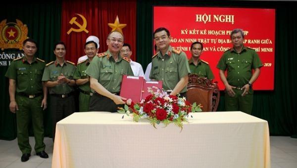 Tăng cường phối hợp đảm bảo ANTT trên địa bàn giáp ranh giữa Long An - TP Hồ Chí Minh