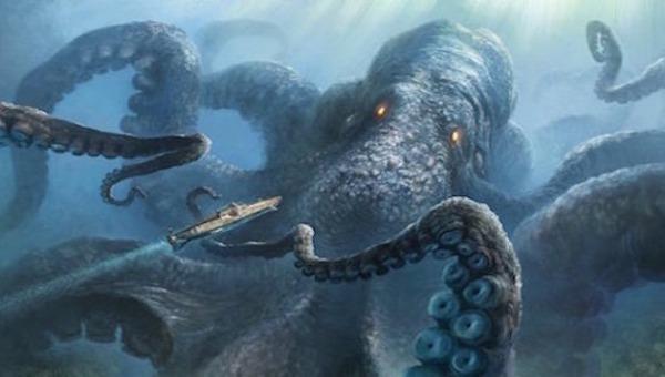 Ám ảnh xuyên thế kỷ về sự tồn tại của loài bạch tuộc khổng lồ có khả năng nhấn chìm tàu xuống đáy đại dương