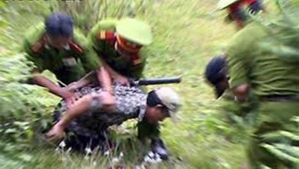 Lực lượng cảnh sát trấn áp tội phạm (ảnh minh họa)