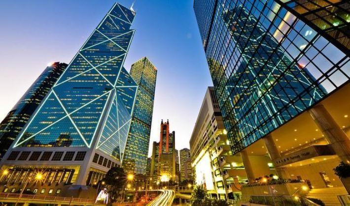 Những tòa cao ốc ở Hong Kong (Trung Quốc)
