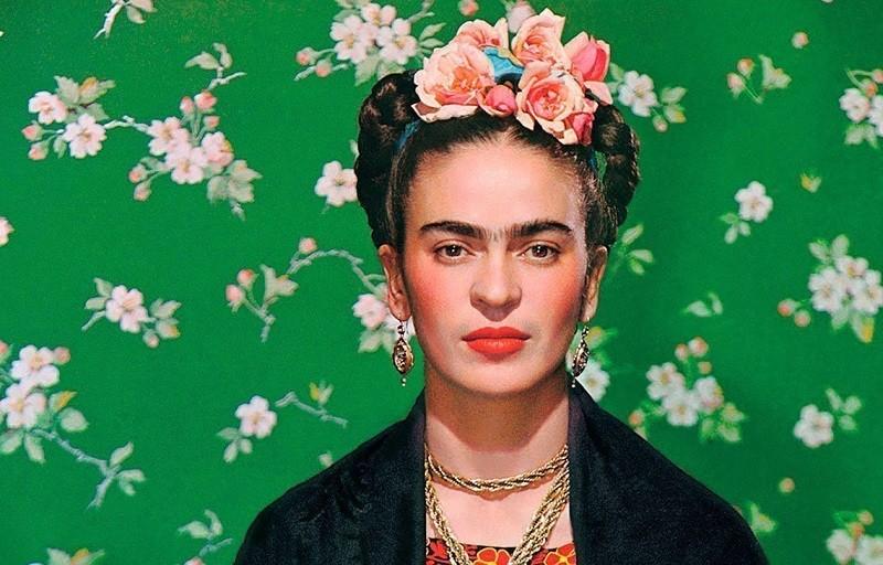 Chân dung nữ họa sĩ Frida Kahlo
