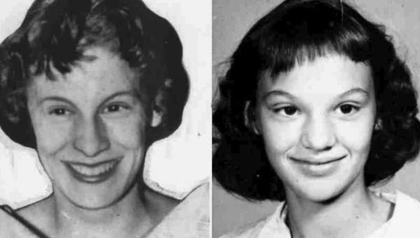Hai chị em Barbara và Patricia Grimes
