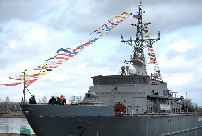 Tàu quét mìn - Vũ khí tối tân của Hải quân Nga