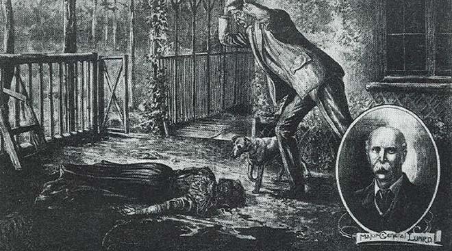 Thiếu tướng Charles Luard trở thành kẻ tình nghi sau cái chết của vợ.