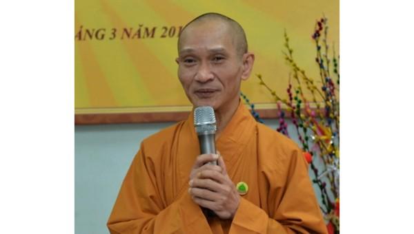 Hòa thượng Thích Thanh Điện - Phó Tổng thư ký Hội đồng Trị sự, Phó Thường trực Ban Hướng dẫn Phật tử Trung ương Giáo hội Phật giáo Việt Nam.