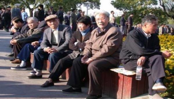 Người cao tuổi ở Trung Quốc.