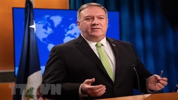 Bộ trưởng ngoại giao Mỹ Mike Pompeo.