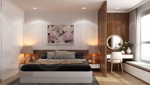 Một thiết kế phòng ngủ đẹp, đơn giản, trang nhã.