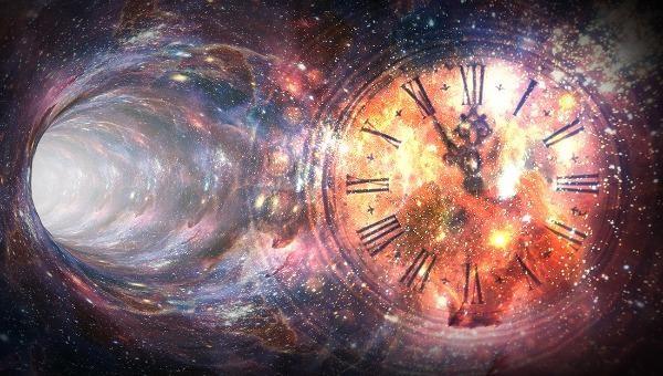 Rơi vào lỗ thủng thời gian, dường như không gian và thời gian ngừng chuyển động (ảnh minh họa).