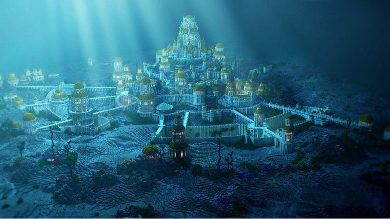 Lục địa Atlantis vĩ đại và hùng cường đã bị nhấn chìm dưới đại dương sau một thảm họa.
