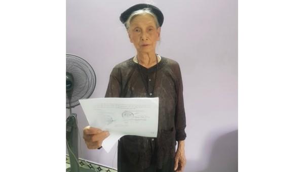 Bà Nguyễn Thị Gái.