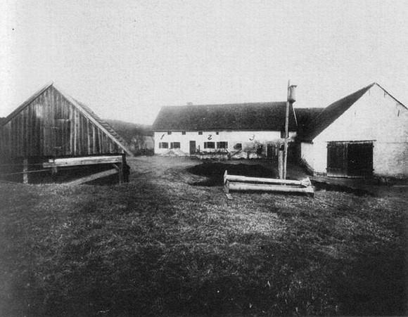 Trang trại Hinterkaifeck nơi xảy ra vụ thảm án.