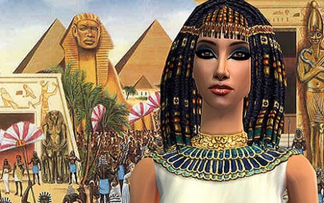Nữ hoàng Cleopatra.