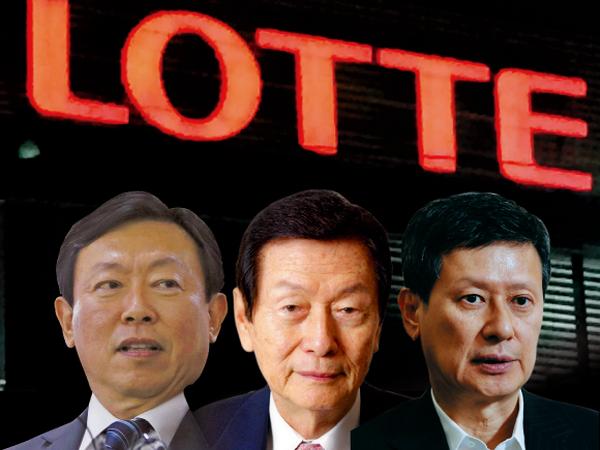 Những người sáng lập tập đoàn Lotte.