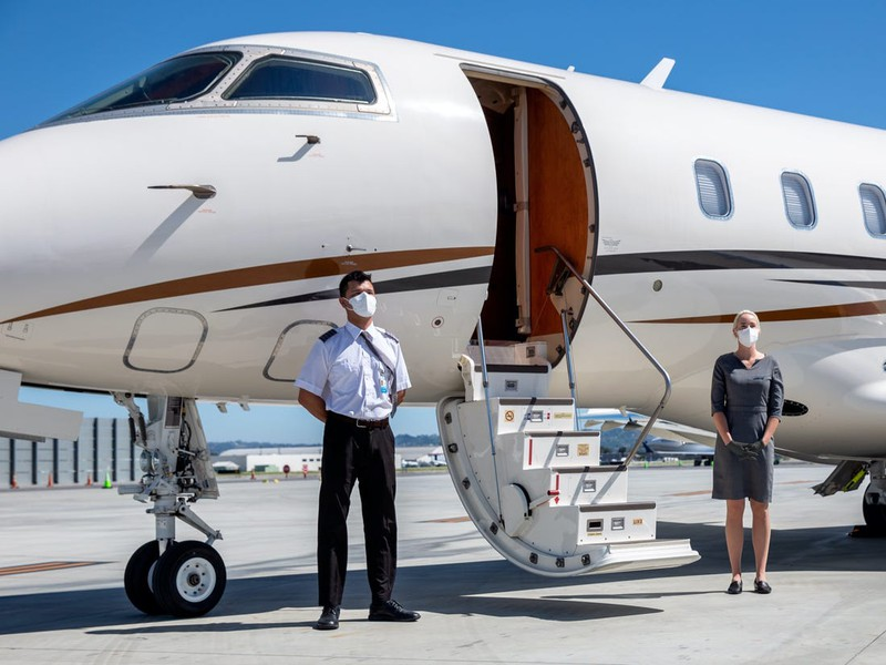 Hậu Covid-19 xu hướng du lịch bằng máy bay riêng lên ngôi?