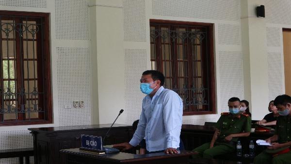 Bị cáo Nguyễn Văn Bắc tại tòa.
