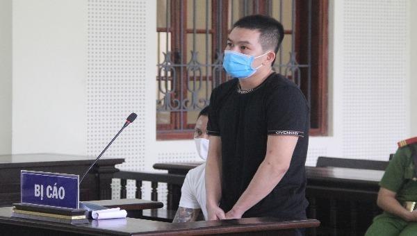 Bị cáo Lê Trung Hiếu lĩnh án 15 năm tù.