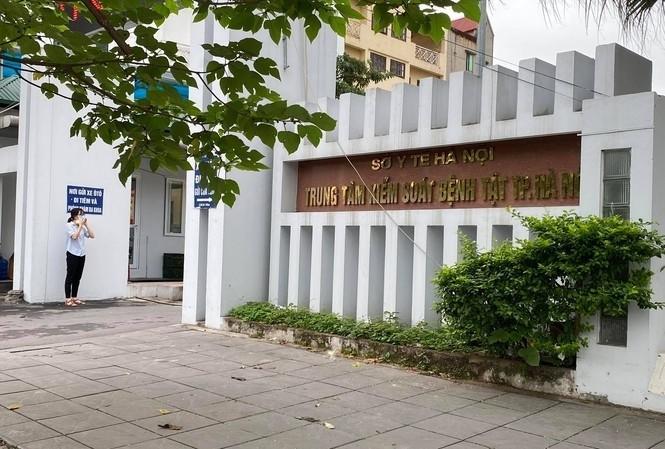 Trụ sở CDC Hà Nội.